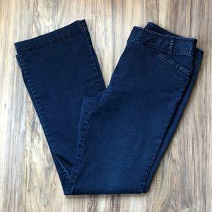 J. Jill Dark Wash Stretch Trouser Jeans 8